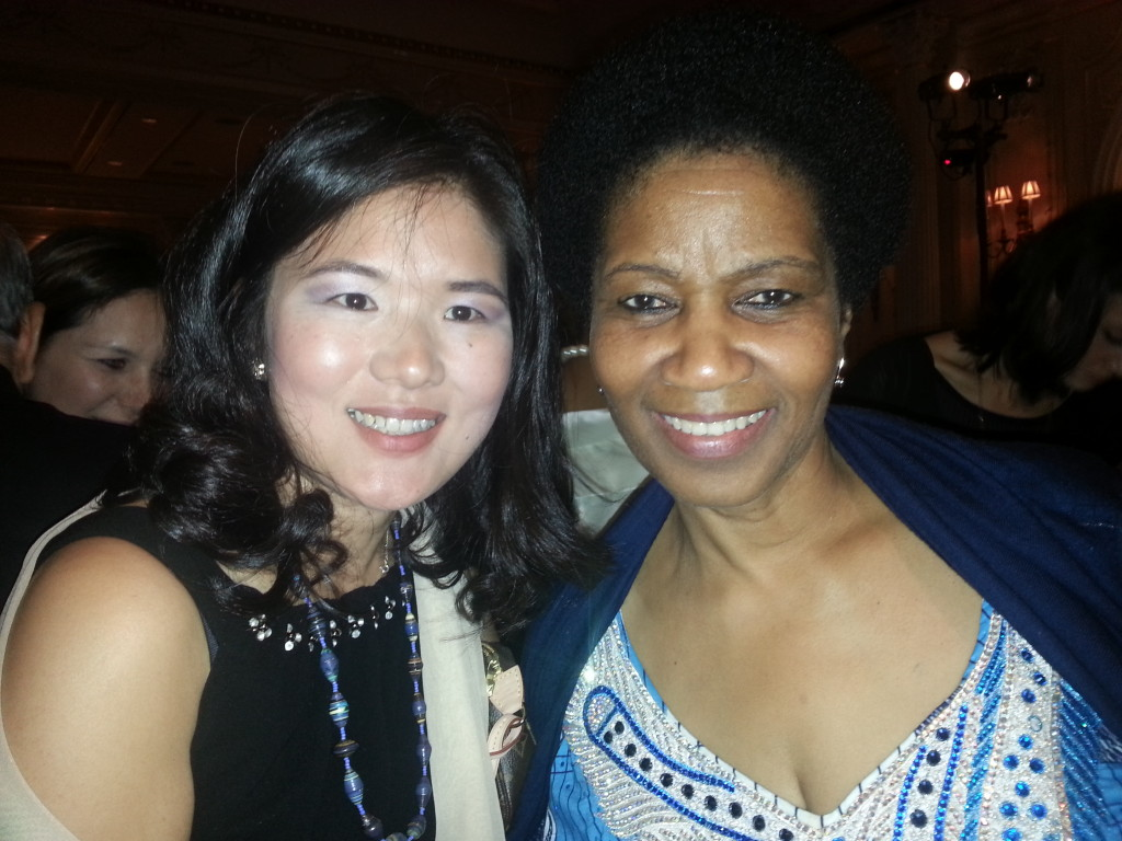Kristin with Dr. Phumzile Mlambo- Ngcuka , Under Secretary -General and Executive Director of United Nations Women