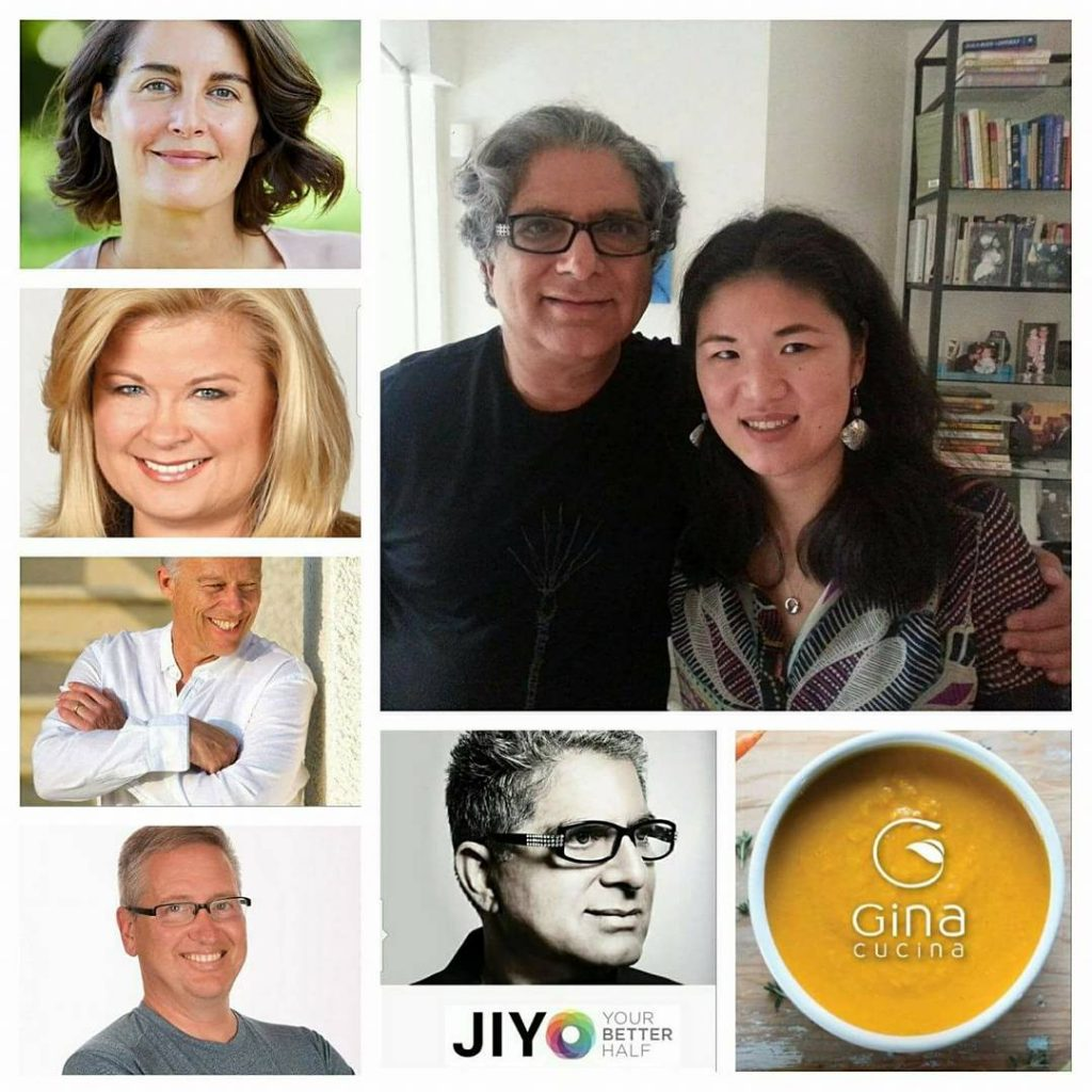 Elena Brower, Sheri Salata, Rod Stryker, Michael Silvio, Gina Cucina