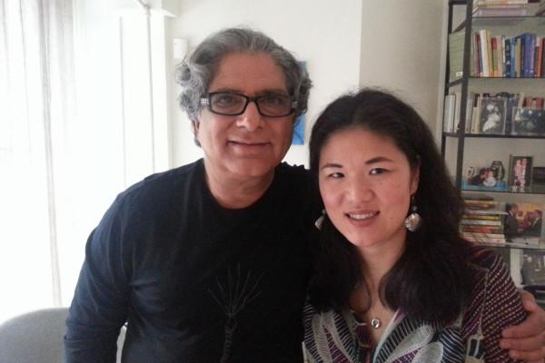 kristin-meekhof-and-Dr-Deepak- Chopra