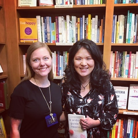 Elizabeth Walker with Kristin Meekhof at Crazy Wisdom Bookstore